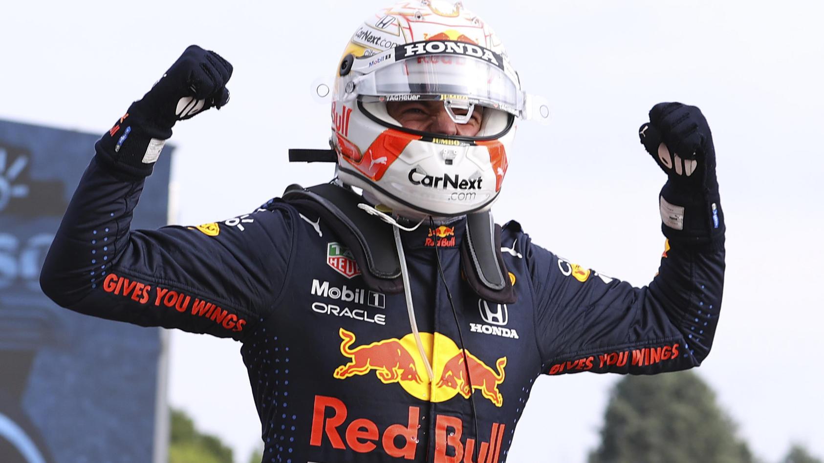 Max Verstappen feierte in Imola seinen elften GP-Sieg