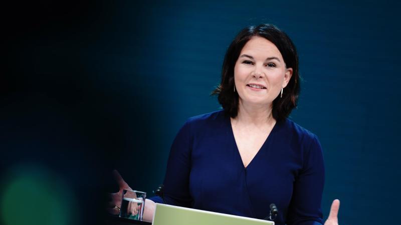 Die Grünen-Vorsitzende Annalena Baerbock soll ihre Partei als Kanzlerkandidatin in die Bundestagswahl führen. Foto: Kay Nietfeld/dpa/Archivbild