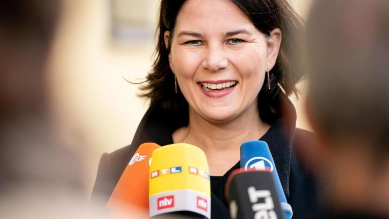 Annalena Baerbock, Bundesvorsitzende von Bündnis 90/Die Grünen. Foto: Kay Nietfeld/dpa
