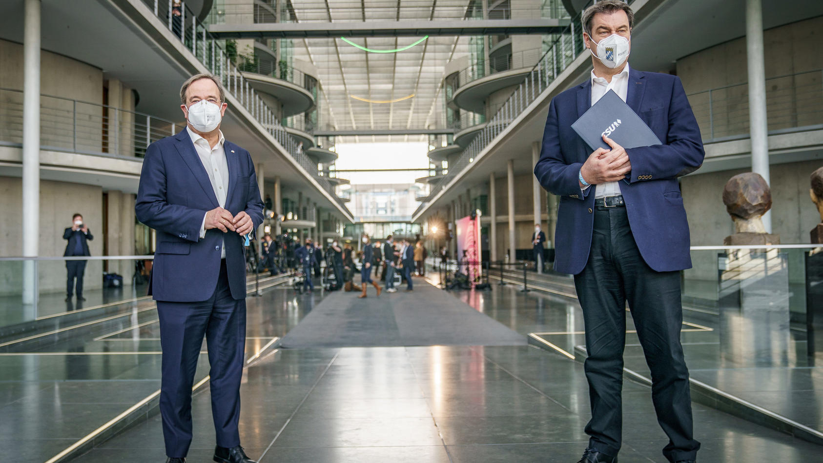 Armin Laschet und Markus Söder