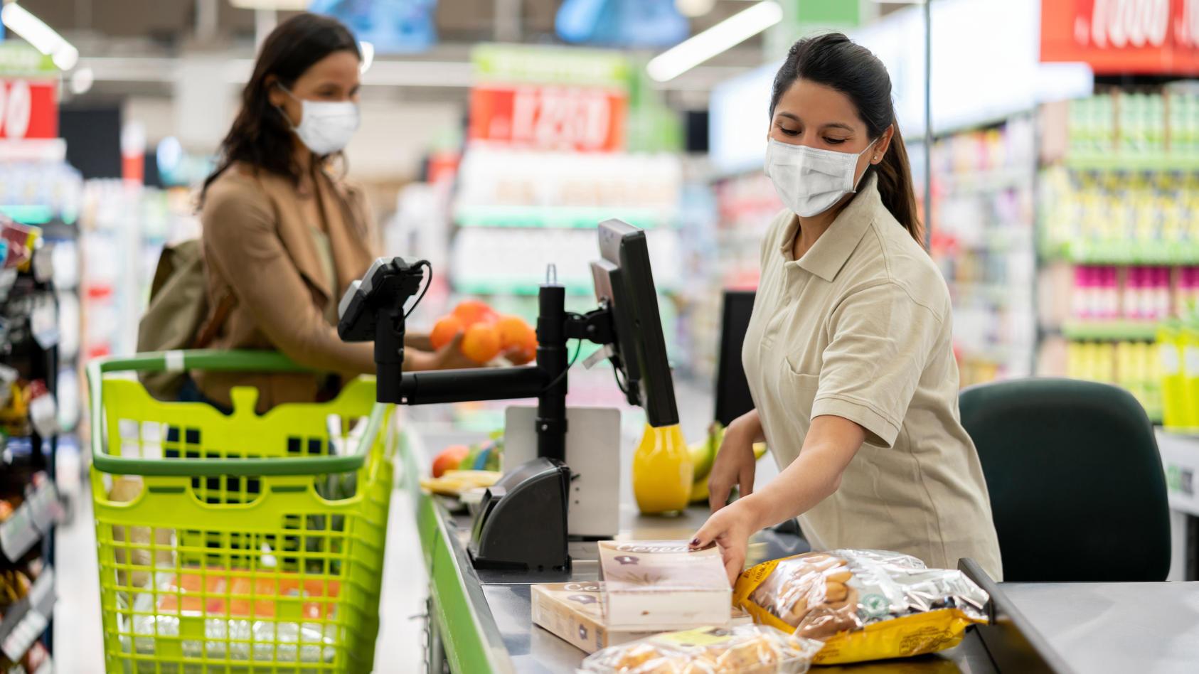 Wie hoch ist das Ansteckungsrisiko in Supermärkten wirklich?