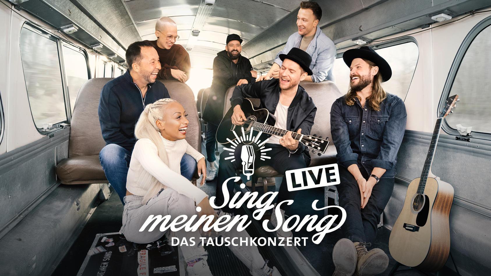 """Die """"Sing meinen Song""""-Stars gehen 2022 auf Live-Tour."""