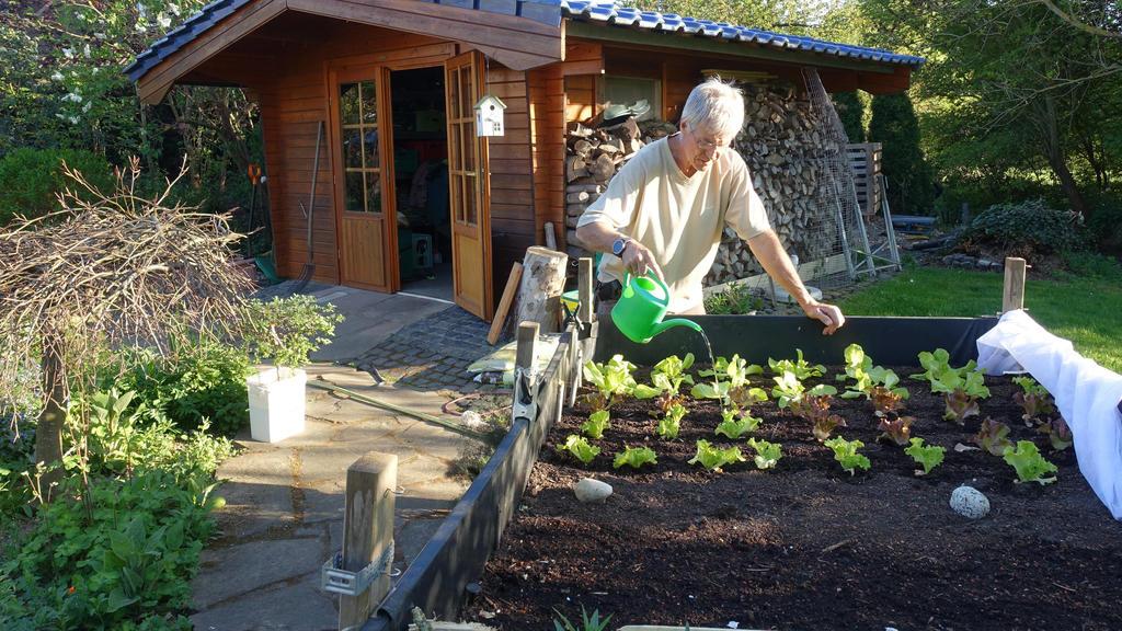 Recycling und eine klimafreundliche Gestaltung des Gartens sind wichtige Aspekte beim Gärtnern.