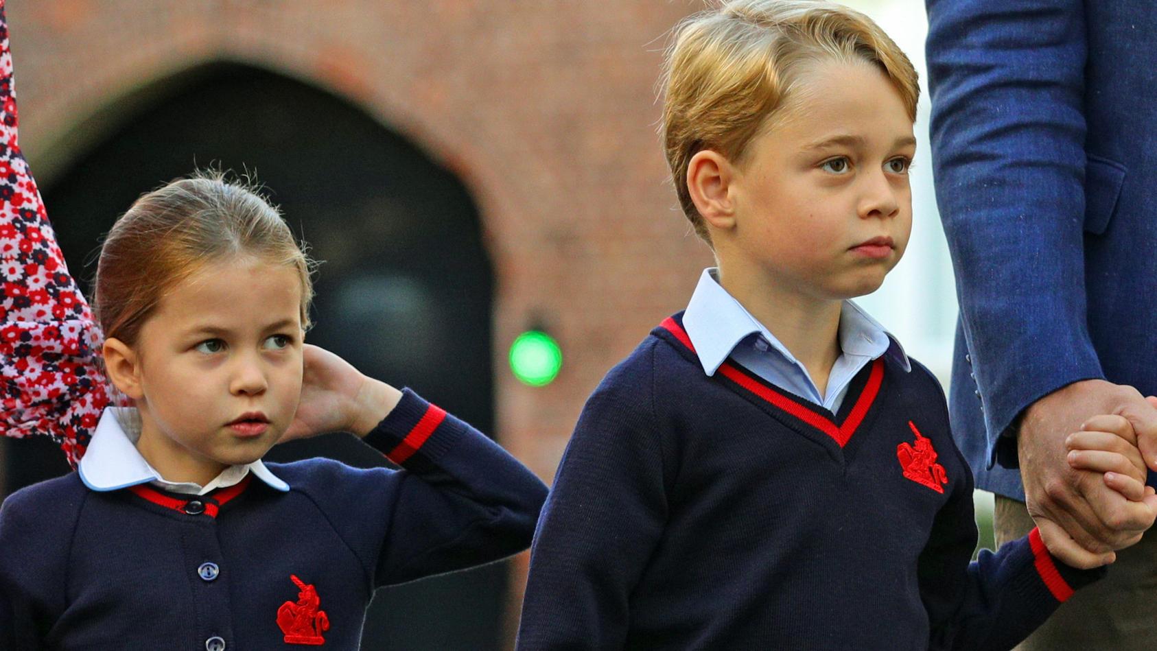 Prinzessin Charlotte und Prinz George lernen bei ihrer Mama Herzogin Kate, wie man mit Geld umgeht.