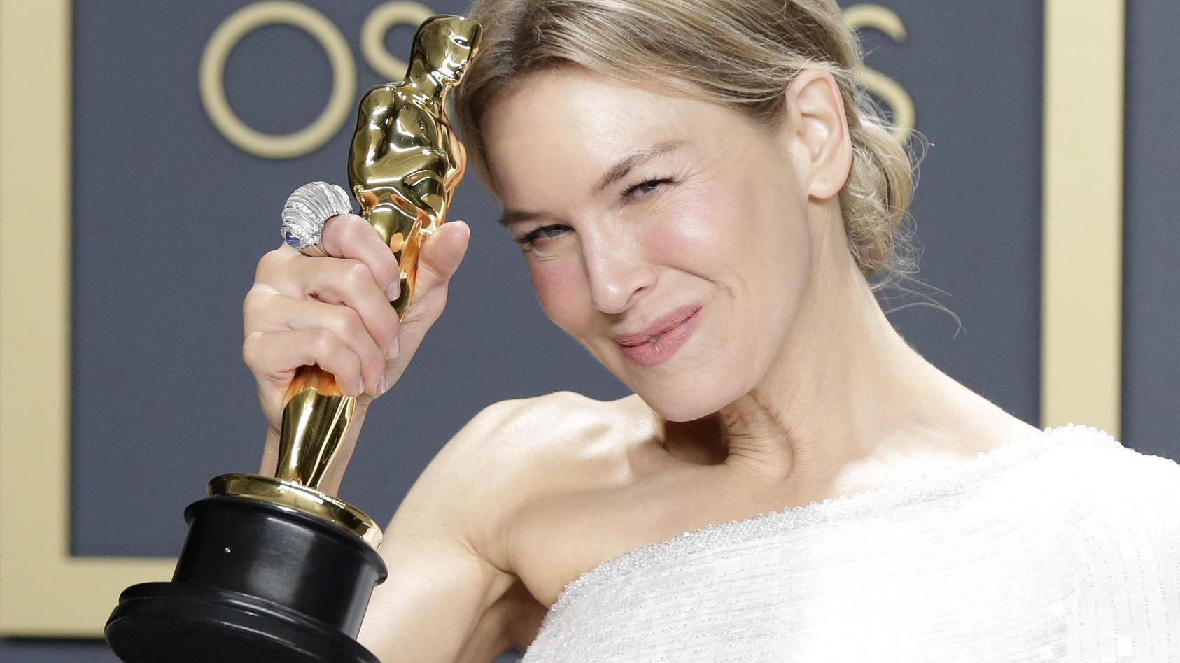 Renee Zellweger gewann letztes Jahr den Oscar - und ein Oscar-Goodie-Bag