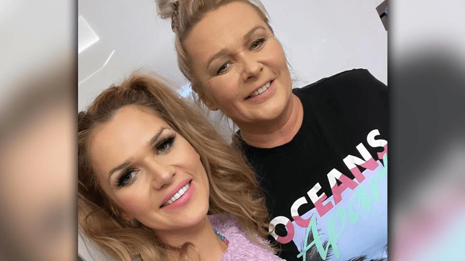 Sara Kulka und ihre Mama Goscha.