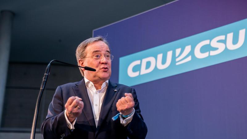 Nicht wenige in der CDU - und in der CSU sowieso - hätten sich Markus Söder statt Armin Laschet als Kanzlerkandidaten gewünscht. Foto: Michael Kappeler/dpa