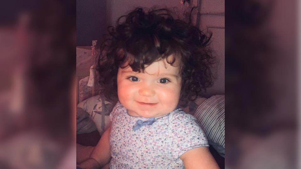 Lottie Batchelor mit neun Monaten