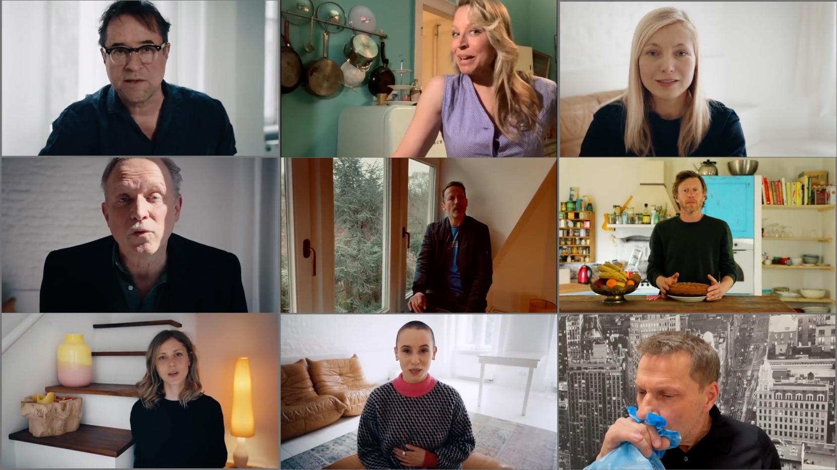 Internetaktion #allesdichtmachen: Mittlerweile rudern viele der Schauspieler zurück.