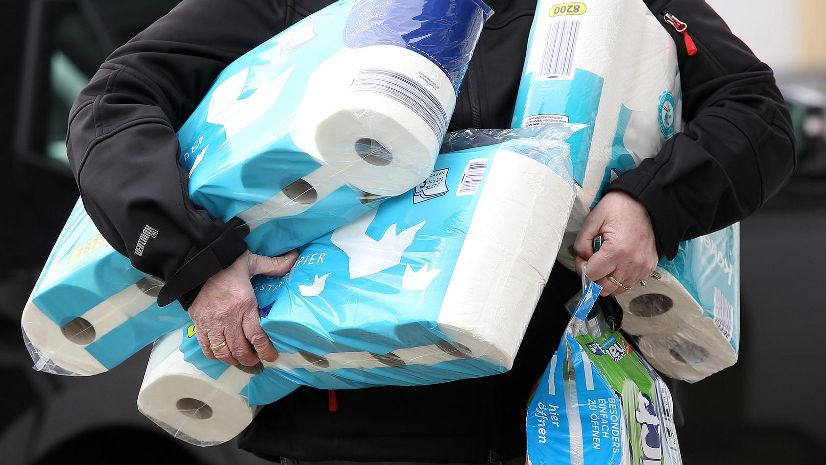 Papierbranche verkauft weniger Klopapier.