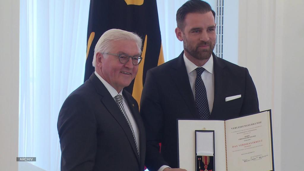 Christoph Metzelder wurde für sein soziales Engagement ausgezeichnet.