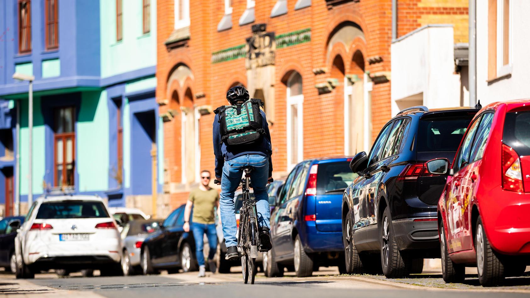 Radverkehr soll gefördert werden.