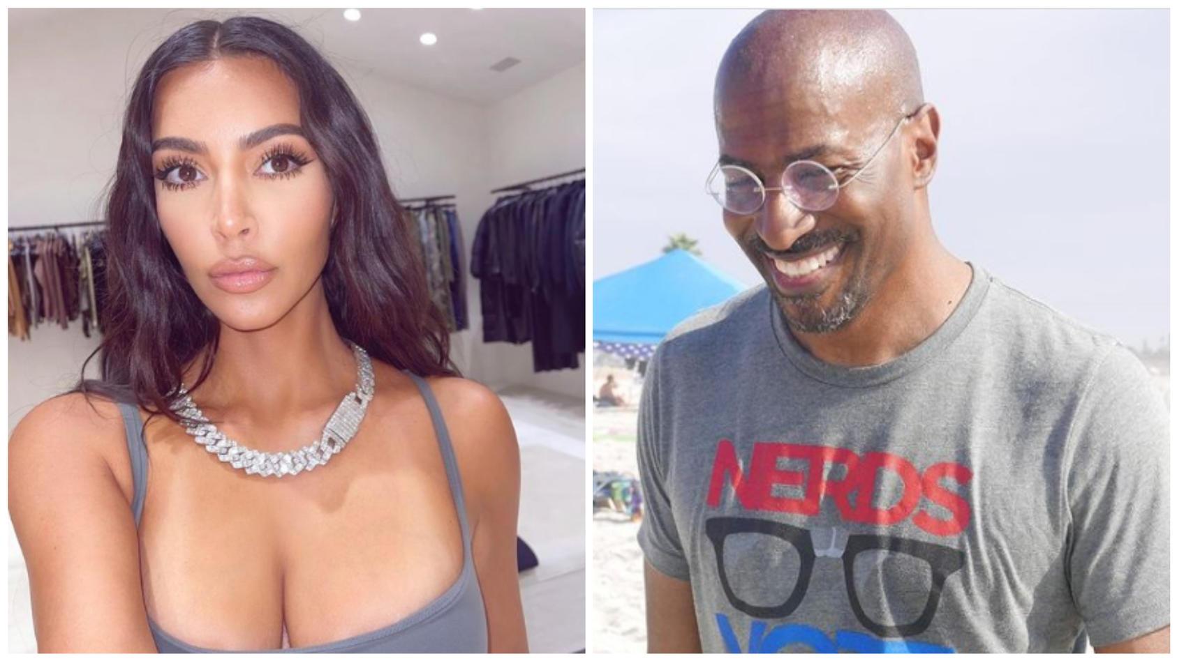 Kim Kardashian und Van Jones sollen miteinander ausgehen.