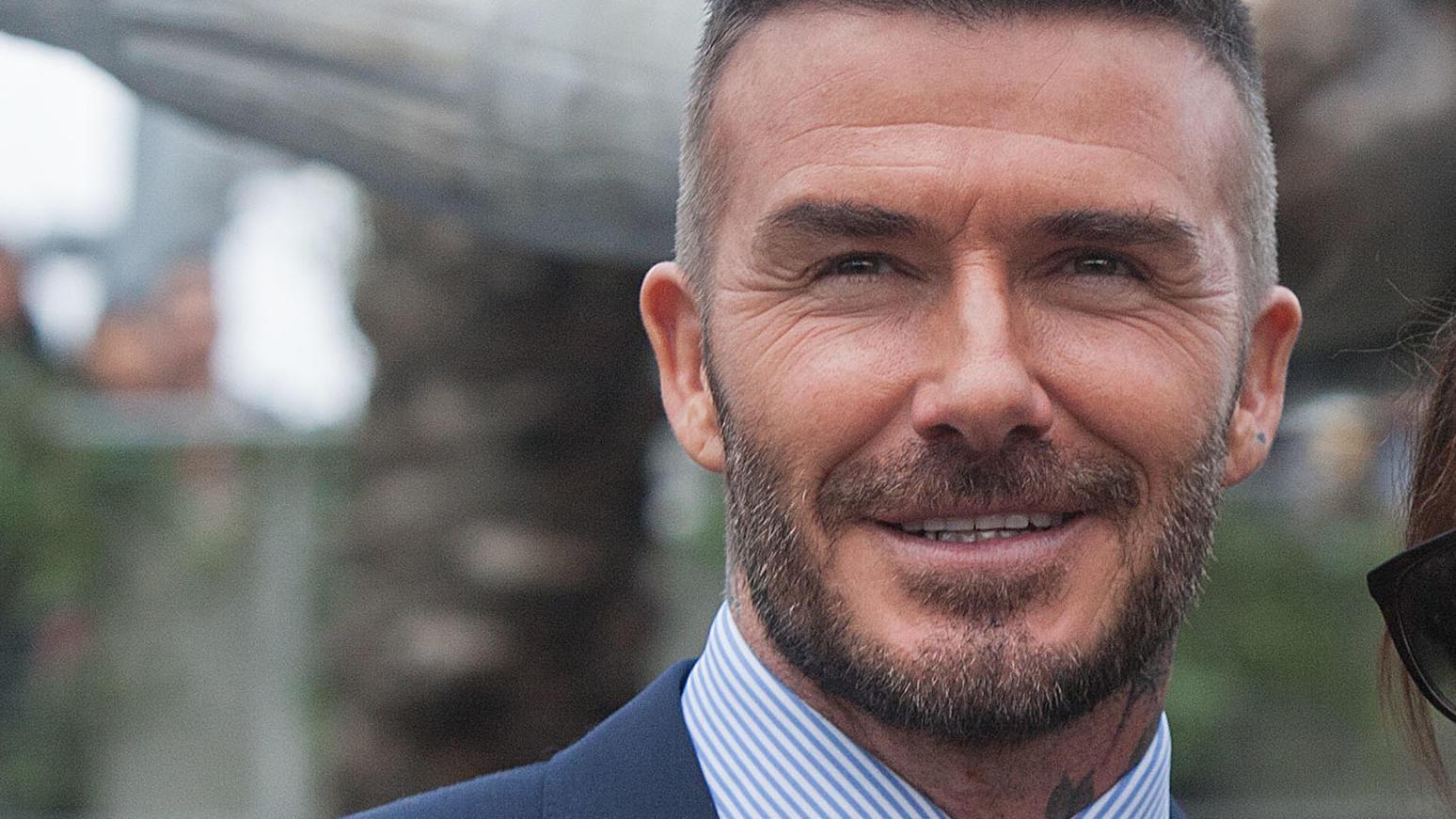 David Beckham als Patenonkel? Joah, nicht schlecht!