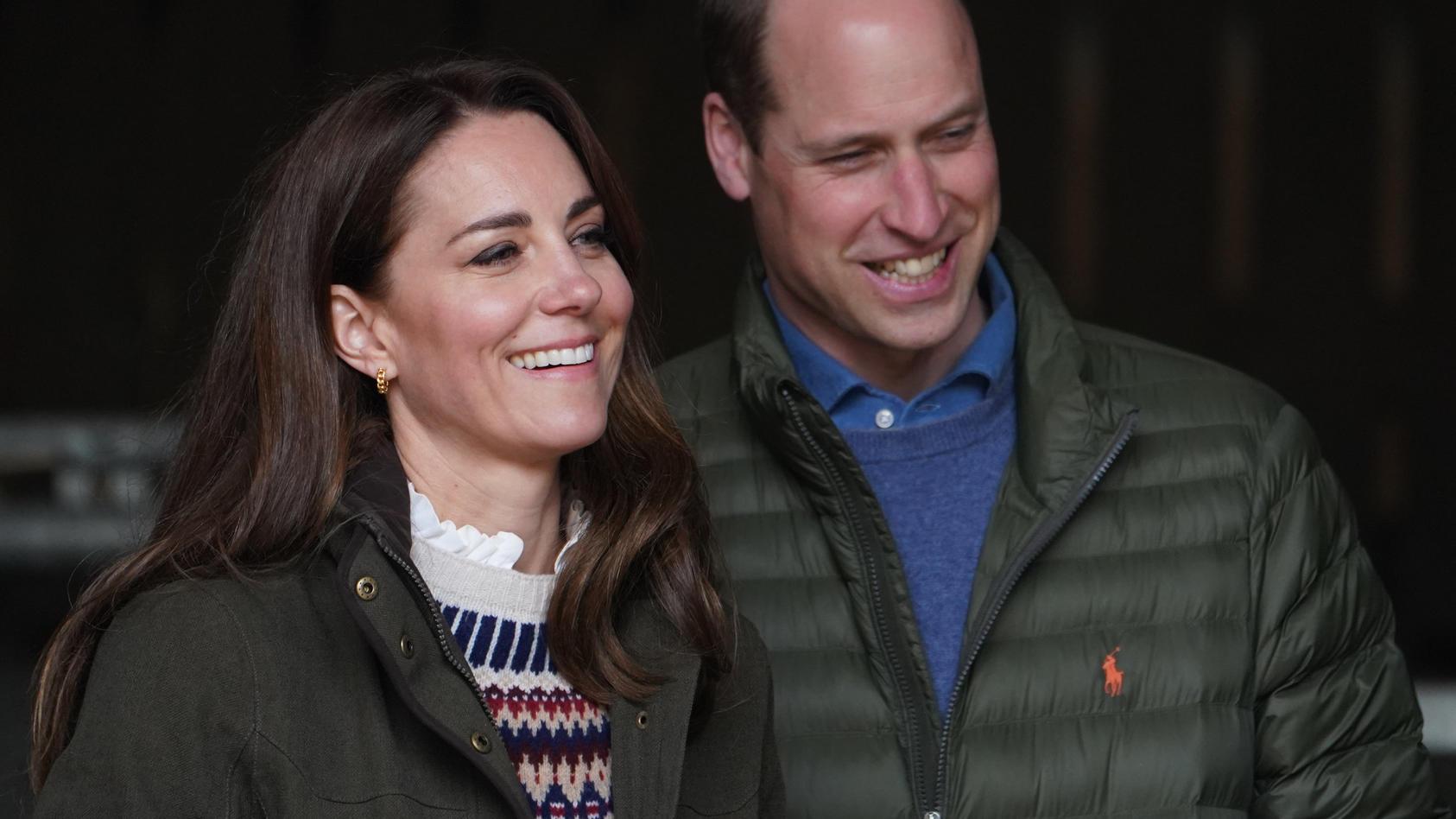 Prinz William und Herzogin Kate treten auch bei offiziellen Terminen als perfekte Einheit auf.