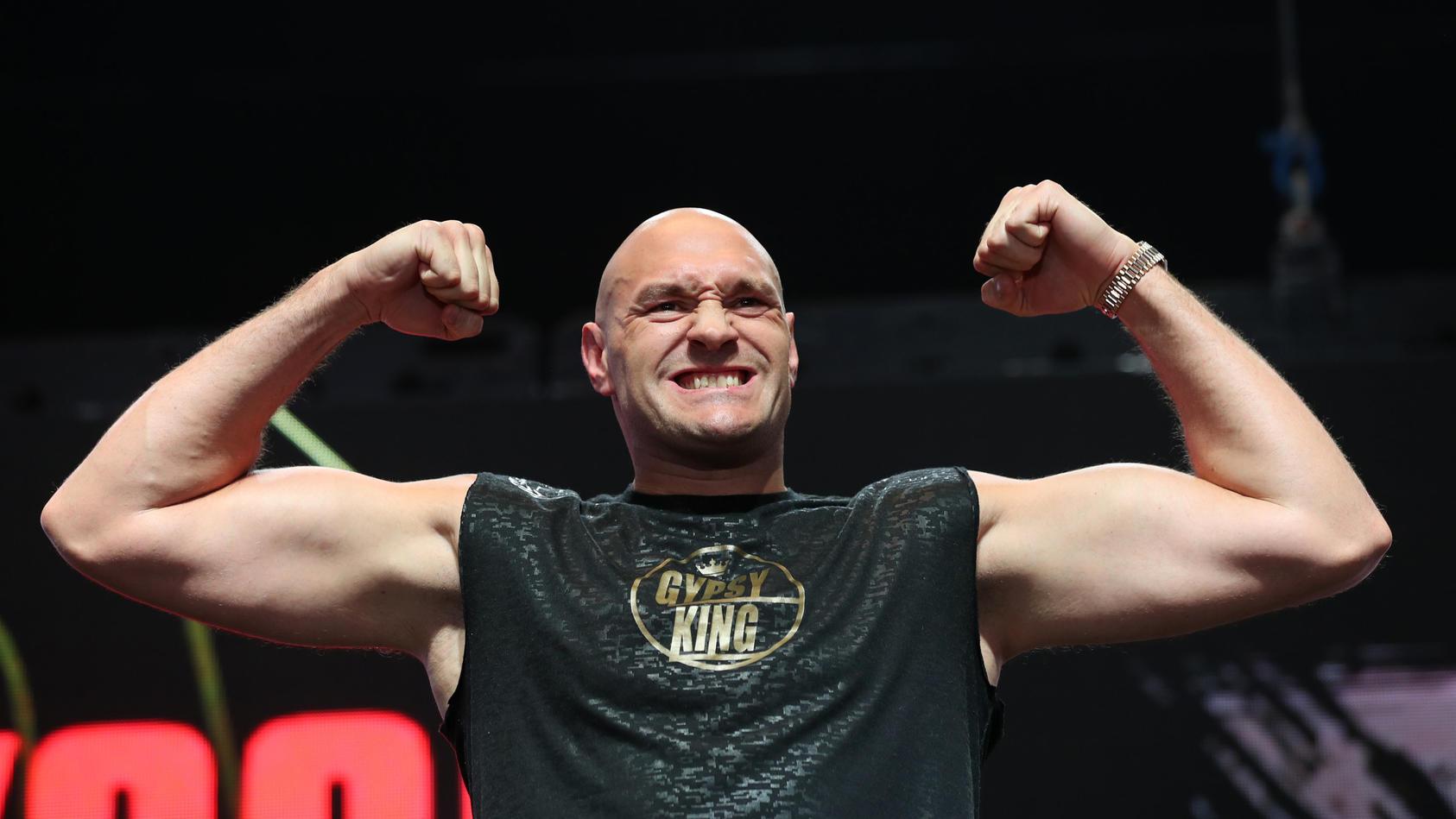 Tyson Fury strotz wie immer vor Selbstbewusstsein