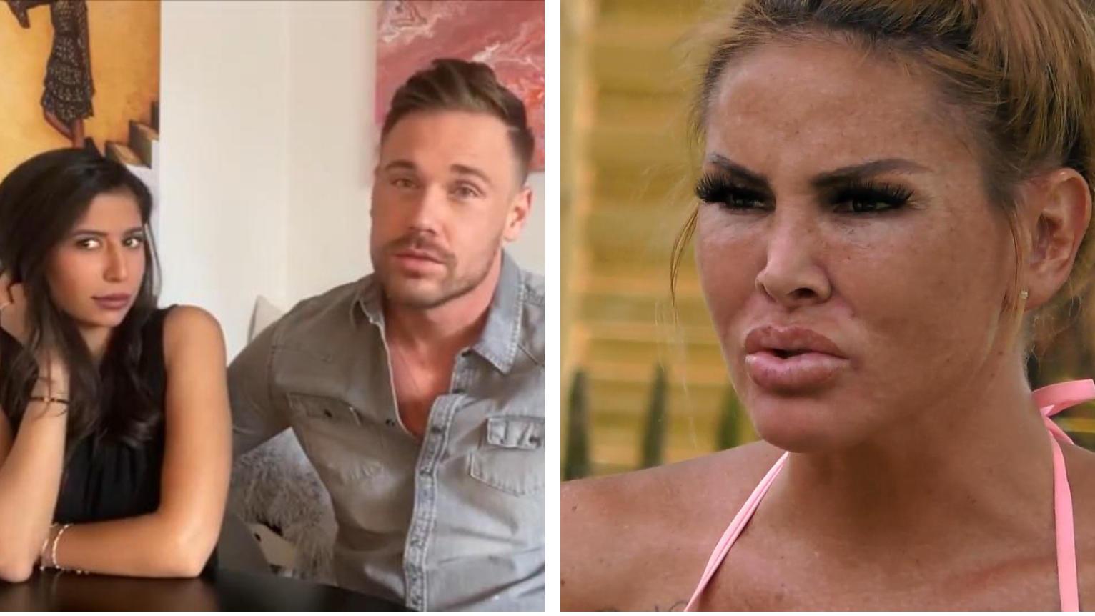 Lisha (rechts) lässt kein gutes Haar an Chris Broy, der sich von Eva Benetatou getrennt hat