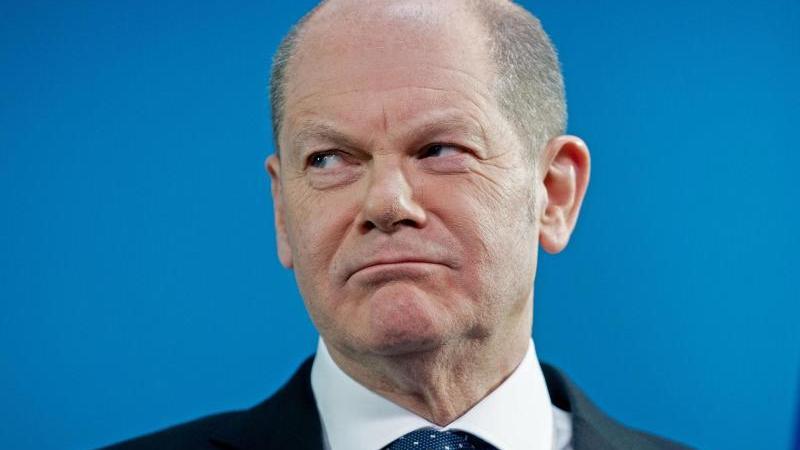 SPD-Politiker Olaf Scholz wies die Vorwürfe vor dem Parlamentarischen Untersuchungsausschuss zurück.