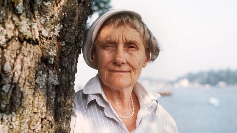 Die schwedische Kinderbuchautorin Astrid Lindgren