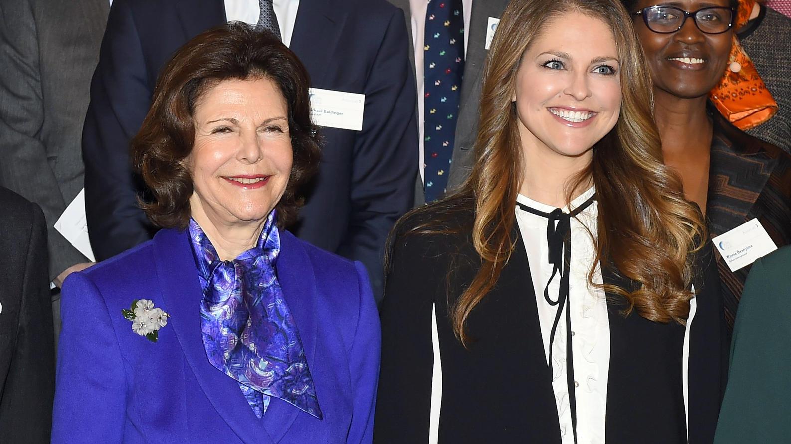 Königin Silvia von Schweden und ihre Tochter, Prinzessin Madeleine, haben sich in einem gemeinsamen Video-Call getroffen.