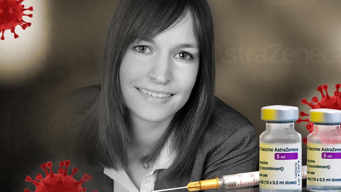 Die 32-jährige Dana O. ist nach einer AstraZeneca-Impfung gestorben. Die Ursache war eine Hirnblutung.