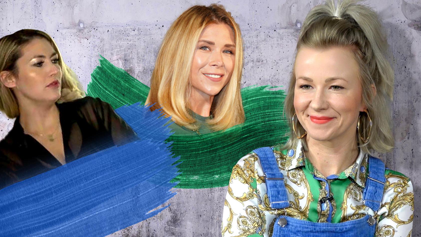 Fiona Erdmann, Tanja Szewczenko, Linda Elden