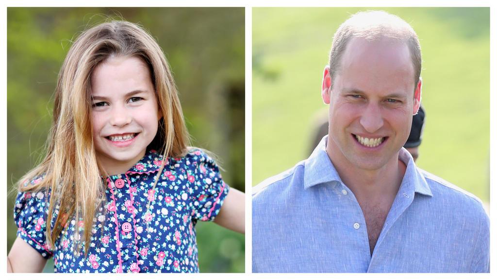 Prinzessin Charlotte sieht ihrem Vater Prinz William ziemlich ähnlich.