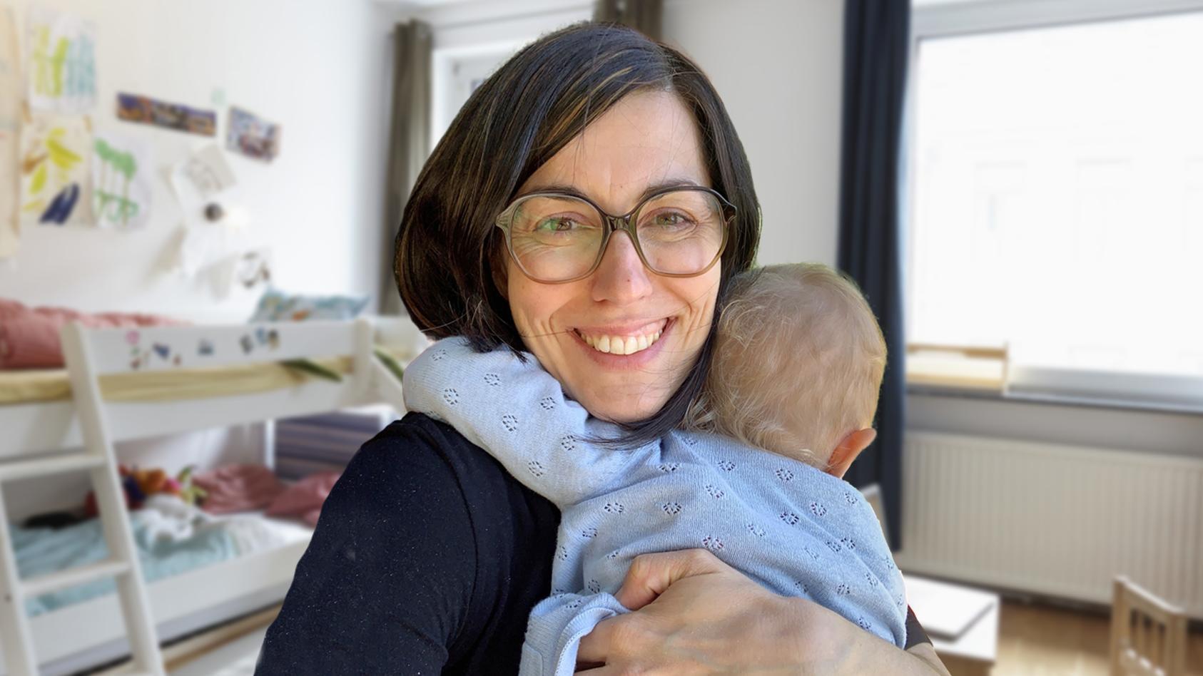 Heinke Trapp ist vierfache Mutter, zahlt aber für jedes Kind den Einzelkind-Betrag in der Kita.