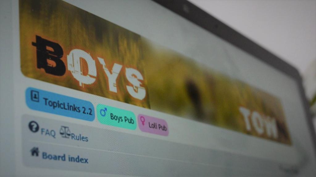 """Screenshot Forum """"Boystown"""""""