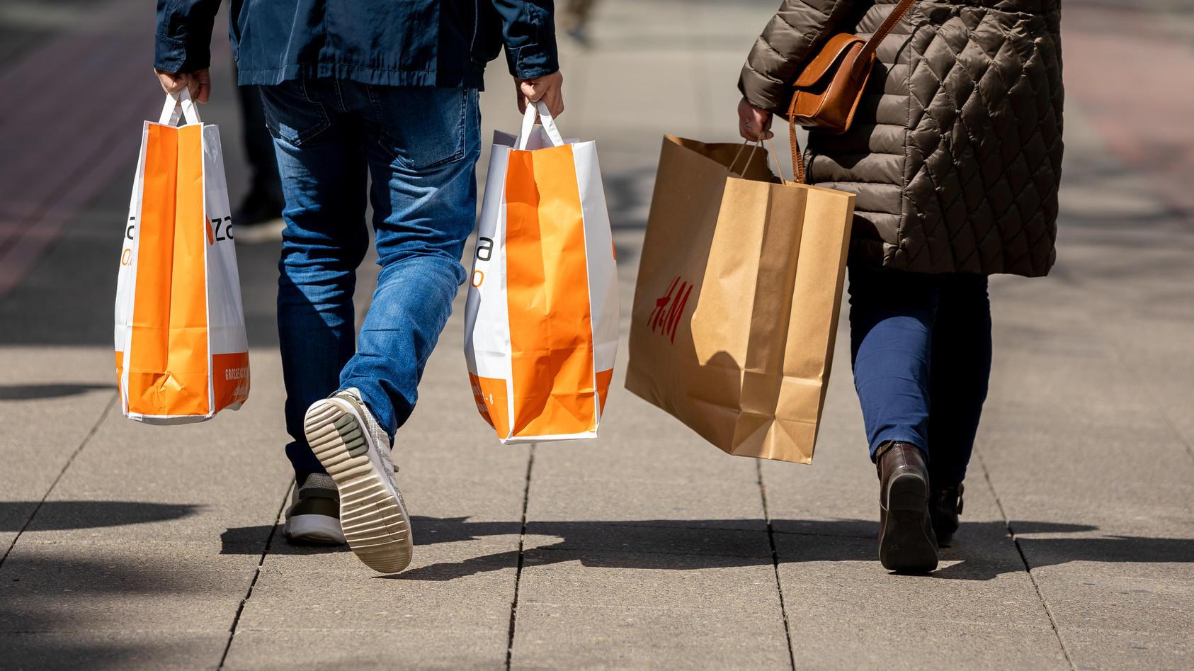 Shopping ist in Niedersachsen wieder ohne Termin möglich.