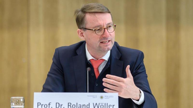 Roland Wöller (CDU), Innenminister von Sachsen. Foto: Robert Michael/dpa-Zentralbild/dpa