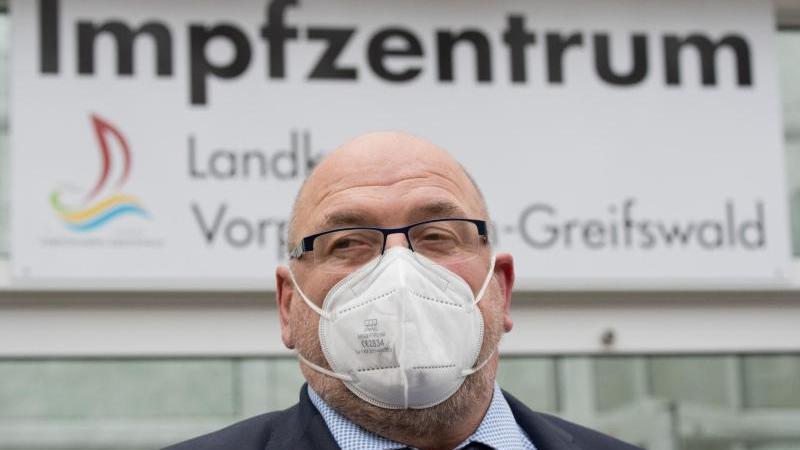Mecklenburg-Vorpommerns Gesundheitsminister Harry Glawe (CDU). Foto: Stefan Sauer/dpa-Zentralbild/dpa/Archivbild