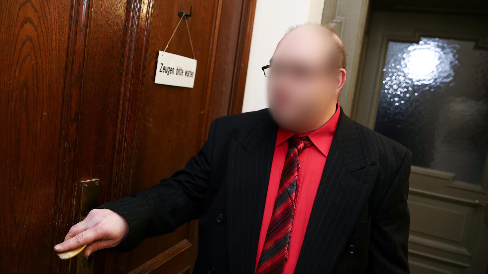 Ulvi K. vor Gericht - bei einem Anhörungstermin im Januar 2015