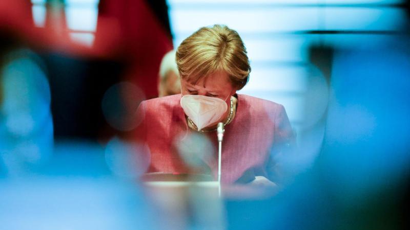 Bundeskanzlerin Angela Merkel drückt bei Verschärfung des Klimaschutzgesetzes aufs Tempo. Foto: Markus Schreiber/AP POOL/dpa