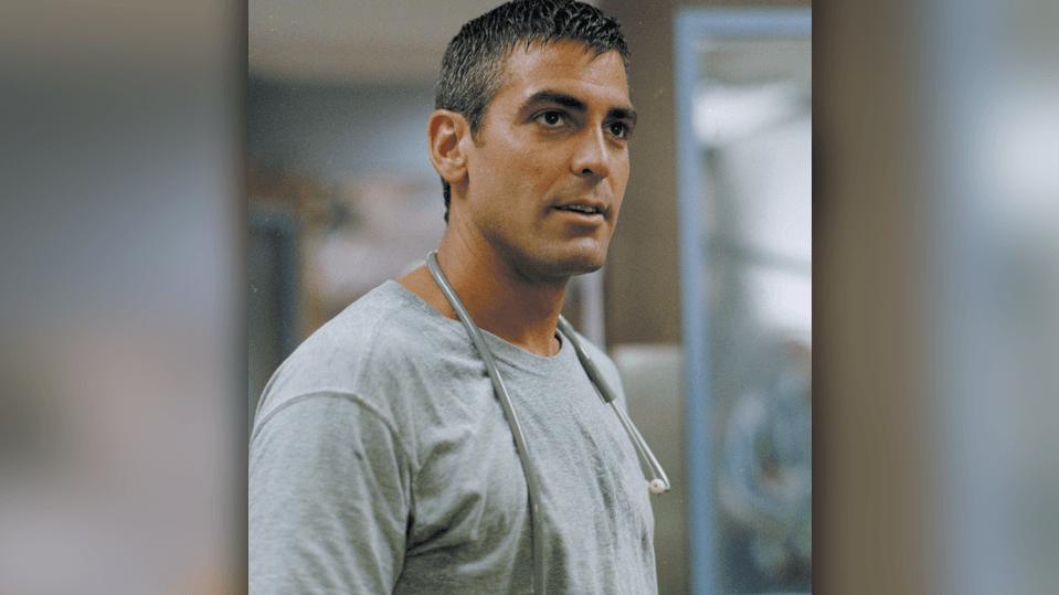 George Clooney als Dr. Doug Ross, 2002..