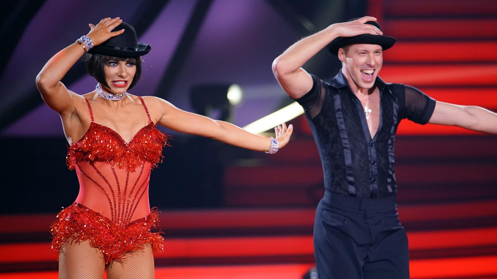 Valentina Pahde und Valentin Lusin tanzten in Show 8 den Charleston.