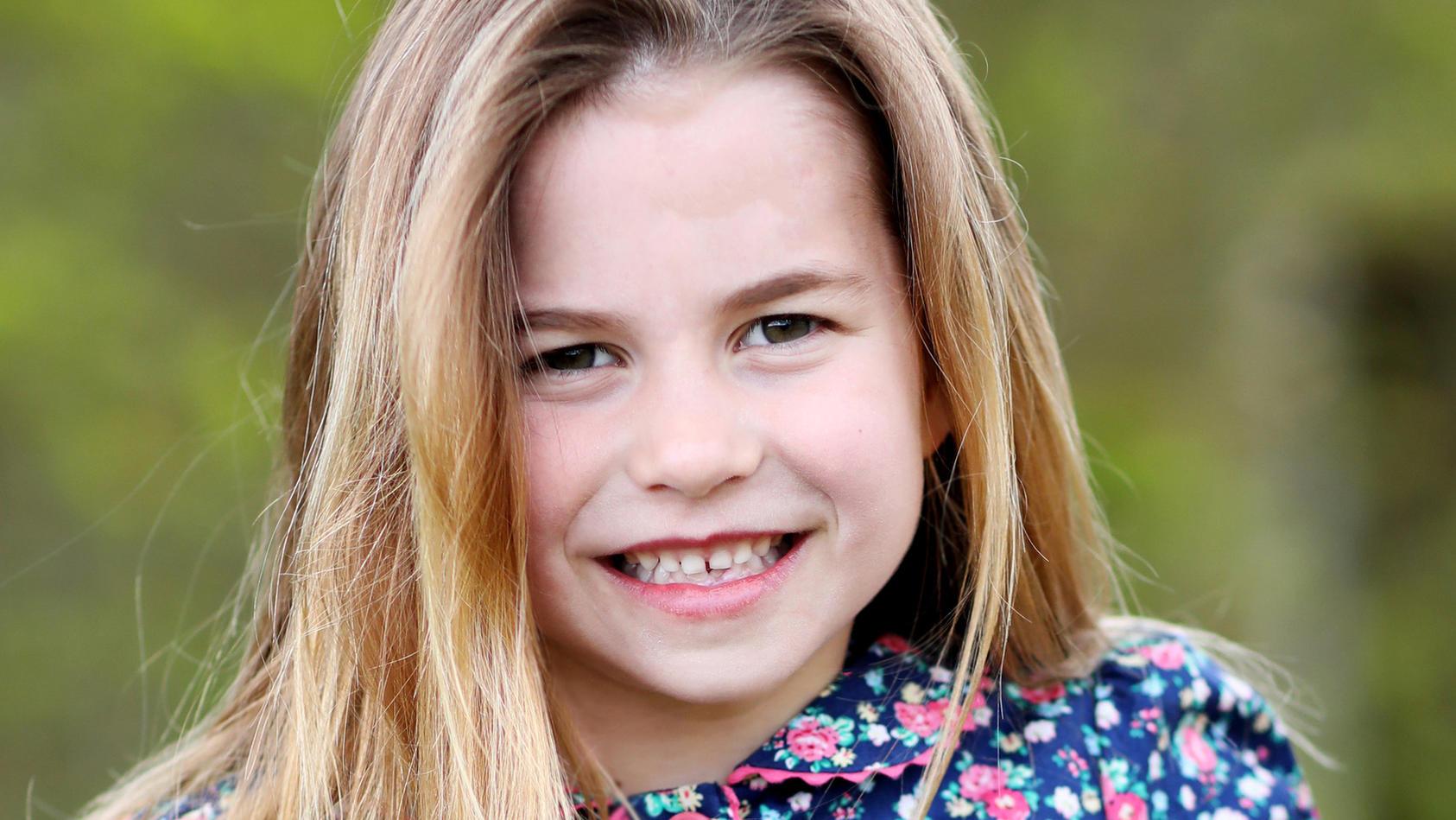 Prinzessin Charlotte feierte am 2. Mai 2021  ihren sechsten Geburtstag.