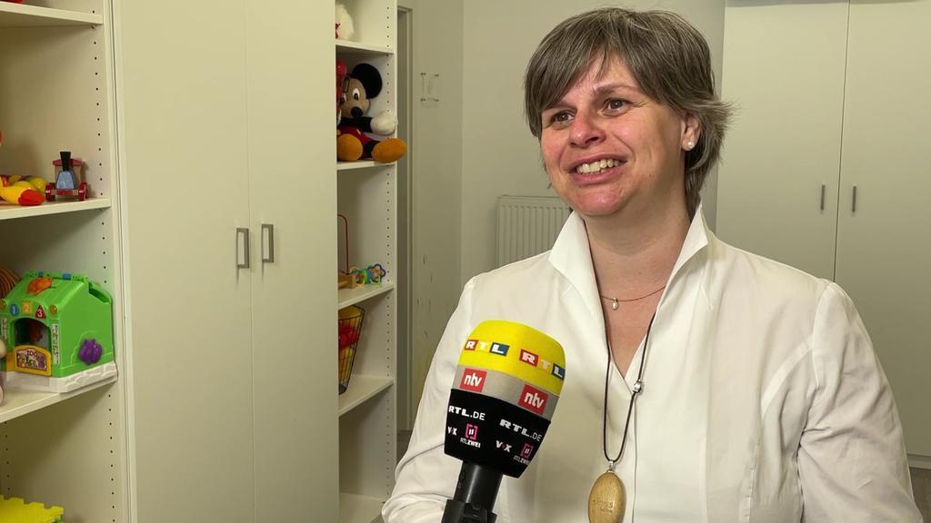 Yvonne Mantwill, Leiterin und Inhaberin einer Hebammenpraxis in Leipzig