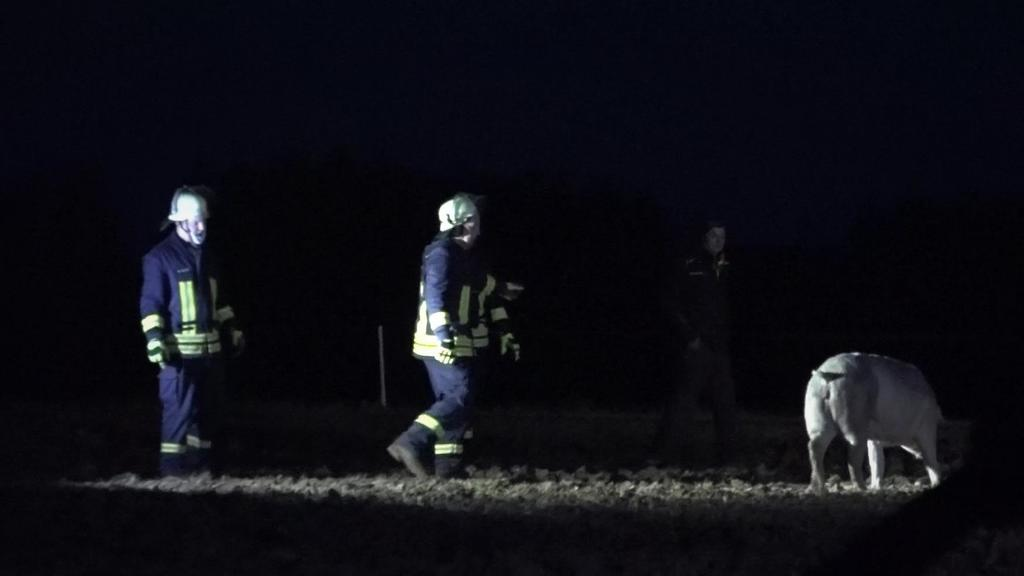 Brand in Wächtersbach: Manche Tiere mussten von den Einsatzkräften eingefangen werden.