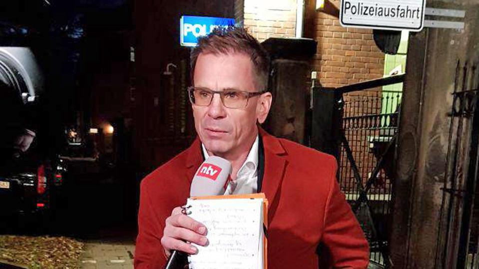 Reporter Andreas Merkel in Bayreuth