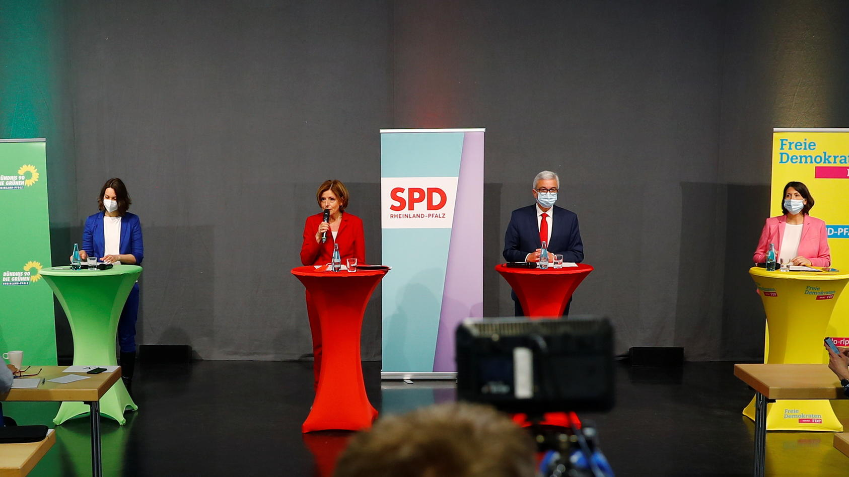 Die zweite Ampelkoalition aus SPD, Grünen und FDP in Rheinland-Pfalz steht