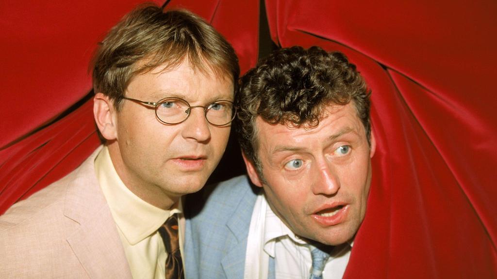 Links Lothar Fuchs und rechts Benno Ewermann.