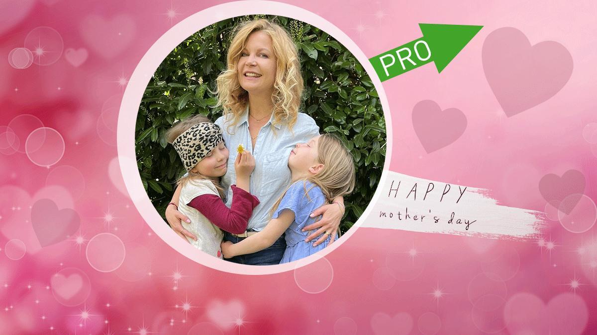 RTL-Moderatorin Eva Imhof mag den Muttertag - genau wie ihre beiden Töchter.