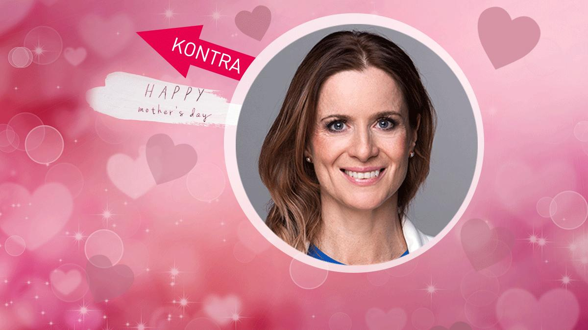 RTL-Redakteurin Maren Mangold findet den Muttertag nicht mehr ganz zeitgemäß - sieht aber auch die schönen Seiten.
