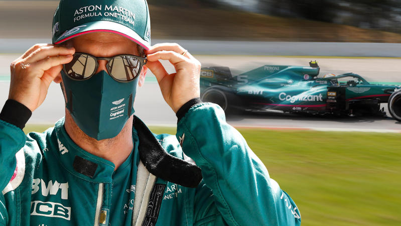 Im 1. Training zum Spanien-GP lief es gut für Sebastian Vettel. Wie sieht's in FP2 aus?