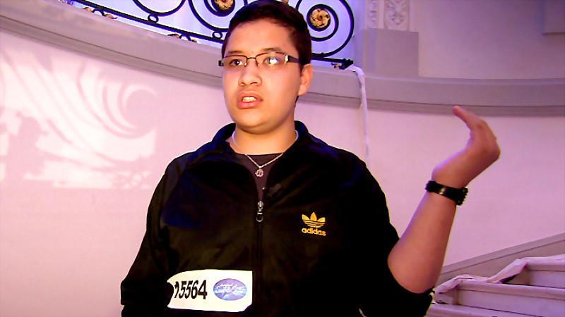 DSDS-Kandidat Anouar tickt beim Casting aus