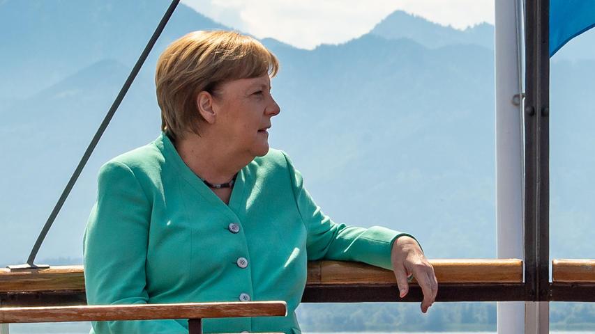 Kanzlerin Angela Merkel (CDU) hat sich optimistisch gezeigt, dass Sommerurlaub in Europa auch für Ungeimpfte möglich sein wird.