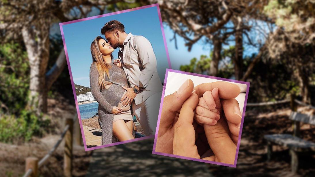 Jessica Paszka und Johannes Haller sind vor Kurzem zum ersten Mal Eltern geworden.
