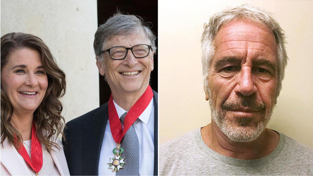 Melinda Gates, Bill Gates / Jeffrey Epstein