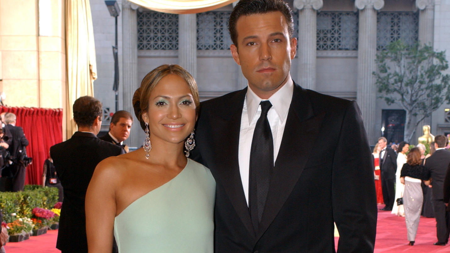 Jennifer Lopez und Ben Affleck waren von 2002 bis 2004 ein Paar - hier bei einer Oscar-Verleihung im Jahr 2003.